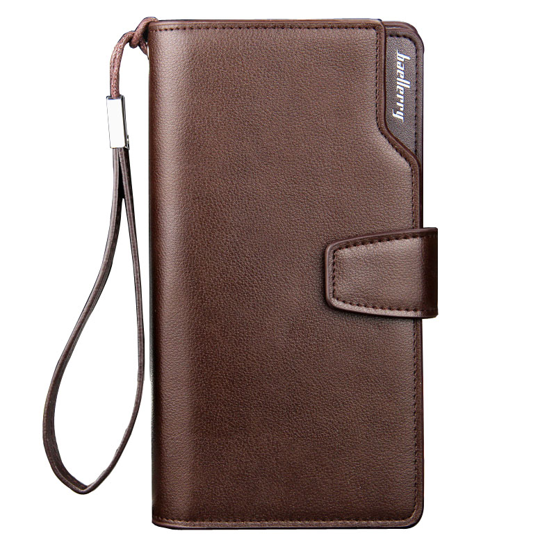 Casual Long Design Wallets Clutch bag Brand Leather Wallets Bifold Wallet Men Card Holder Coin Purse Pockets With Zipper Cartera<br><br>Aliexpress