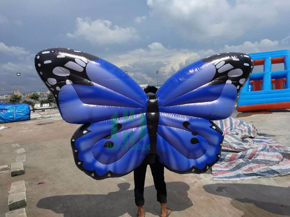 blue inflatable butterfly (5)