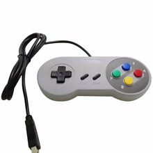 New Retro Classic USB Controller PC Controllers Gamepad Joypad Joystick Replacement for SNES Windows MAC(China)