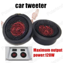 free shipping New Car Tweeter Car Audio Speaker Tweeter Auto horn 2x120W for all cars car stereo speaker