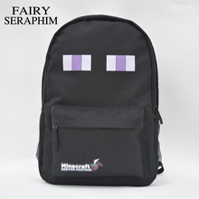 FAIRY SERAPHIM HOT high quality teenager student school bag preppy style kid fashion mochila minecraft game creeper backpack