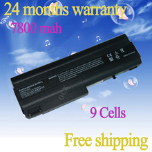 JIGU NEW 6600 MAH Laptop Battery For HP COMPAQ Bsineuss Notebook NX6105 NX6110 NX6110/CT NX6115 NX6120 NX6125 nx6130