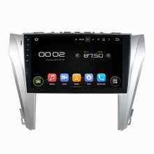Android 5.1 System 10.1 inch Screen Auto radio car dvd gps navigation Navigator Autoradio Player for Toyota Camry 2014 2015