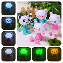 Cartoon Frog/Monkey/Bear Table Lamps Kids Bedroom LED Lamp Sleeping Lamp Decoration Lights --M25