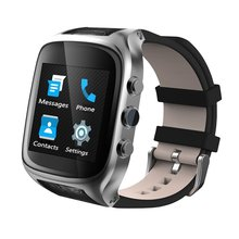 X01S Smart WiFi Bluetooth Watch Phone Android 5.1 OS 3G WCDMA 1GB+8GB GPS Heart Rate Monitor Sport Pedometer with 2MP Camera
