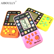 Fancy originality of handheld tetris game classic nostalgic electronic game model toy hot style The best choice for children gif(China)