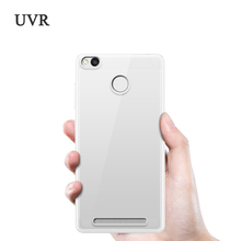 Buy UVR Xiaomi Redmi 3s Case Ultra Thin Clear TPU Xiaomi Redmi 3 s Cover Transparent Soft Cover Silicone Redmi 3pro for $1.40 in AliExpress store