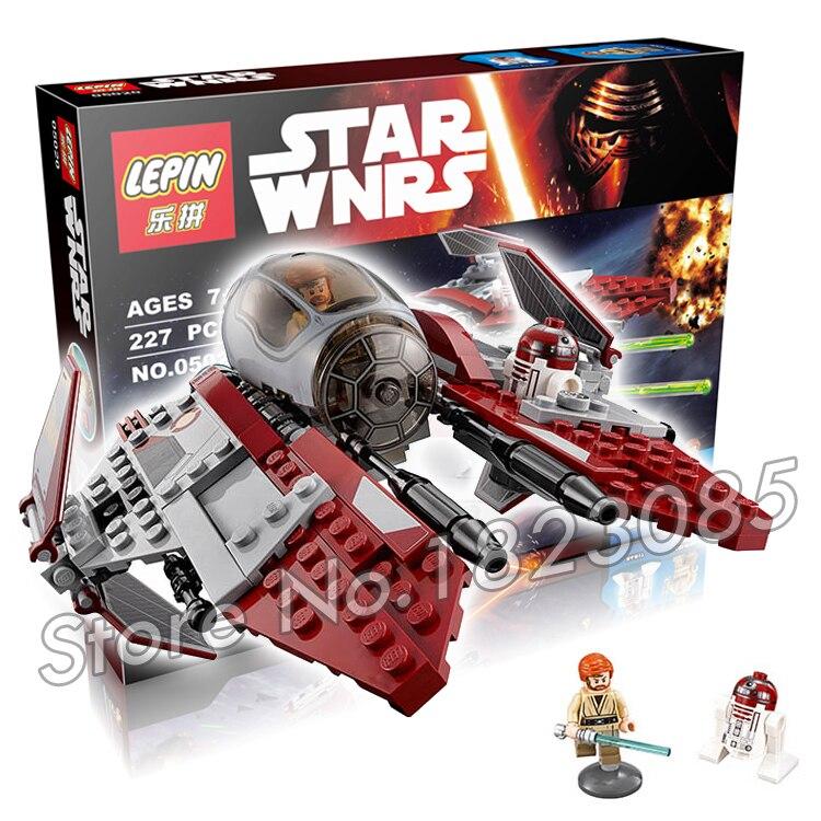 227pcs Bela 05020 New Star Wars Obi-Wans Jedi Interceptor Assembling Building Blocks Gifts Compatible With Lego<br><br>Aliexpress