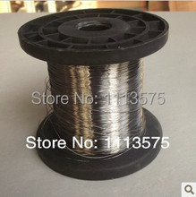 0.1mm diameter,hard condition,304,321,316,stainless steel wire,bright steel wire,free shipping(China)