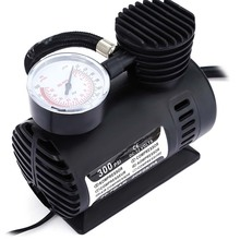 Buy Mini Portable 12V 300PSI Air Compressor Car Auto Tyre Pump Tire Inflatable Pump Auto Car SUV Tire Pump + 3 adapter Car Styling for $12.36 in AliExpress store