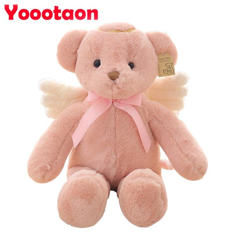 55cm Angel teddy bear Plush kids Toys Kawaii stuffed doll Soft baby toys for girl Christmas gifts<br><br>Aliexpress
