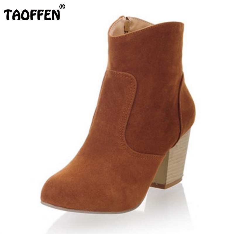 Free shipping half boots women lady boot winter footwear high heel shoes fashion sexy snow warm P7911 EUR size 34-45<br><br>Aliexpress