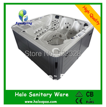 7801 Hot sale outdoor spas / hydro hot tub for 7 person free shipping