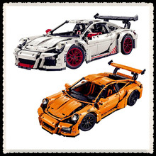 New 2704PCS LEPIN 20001 Technic Series 911 Race Car Model Educational Building Kits Blocks Bricks  Compatible With 42056 Boy Toy