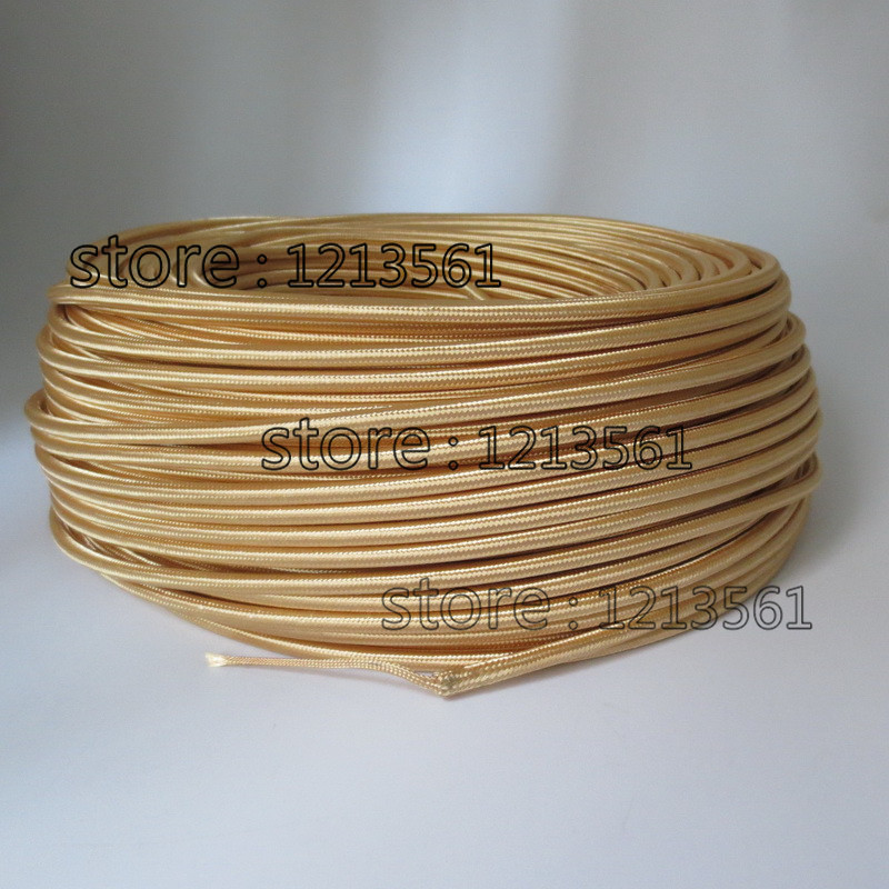 Online Get Cheap Gold Fabric Electrical Cable -Aliexpress.com ...