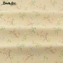 Booksew Quilting Cotton Linen Fabric Printed Flowers Home Material Sewing Tissu For Tablecloth Pillow Bag Curtain Cushion Zakka(China)