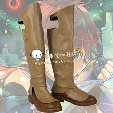 Grimgar of Fantasy and Ash cos Cosplay Shoes Boots shoe boot  #NC974 anime Halloween Christmas