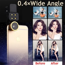 3in1 LED Flash light Mobile Phone Lenses Wide Angle Macro Fish eye Lens doogee x5 max x6 elephone s7 gooweel gionee m6