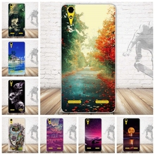 "New Painted Soft TPU Phone Case for Lenovo A6010 Plus & A6000 & for Lenovo Lemon K3 K30-T K30-W Cover Skin 5"" K 3 A 6000 6010"