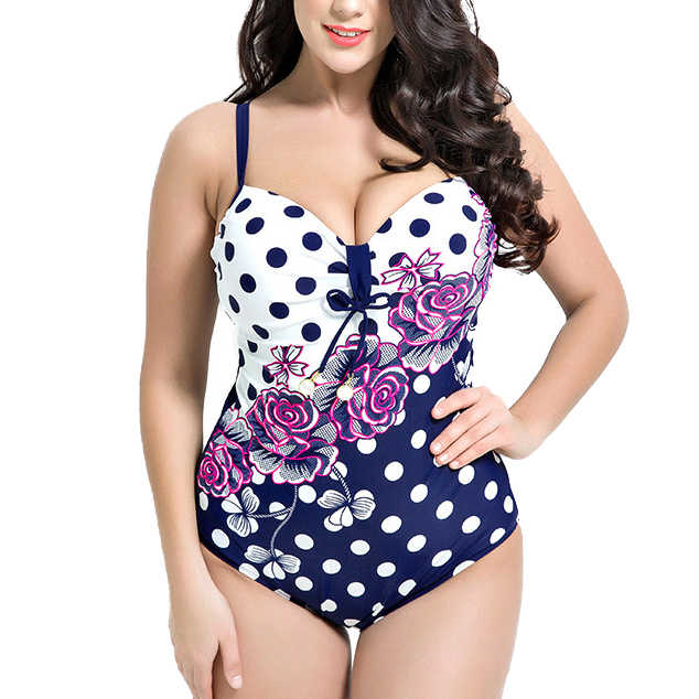 Detail Feedback Questions about 2018 Bikini 2XL 3XL 4XL 5XL 6XL Plus Size  Swimsuit Sexy Beach Swimwear Women Swimsuit Set Bathing Suit Print Swimwear  Push ... 864b6ce9a521