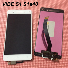 Buy Lenovo vibe s1a40 s1c50 LCD Display+Touch Screen Sensor Complete Digitizer Assembly Replacement lenovo vibe s1 screen for $27.25 in AliExpress store