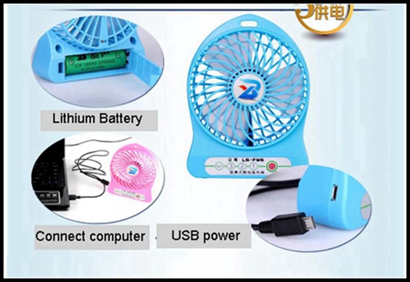LISHUO USB rechargeble Mini Fan 11
