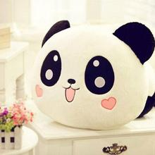 NEW 2016 20cm Giant Panda Pillow Mini Plush Toys Stuffed Animal Toy Doll Pillow Plush Bolster Pillow Doll(China)