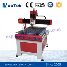 artcam software mach3 control AKM6090 cnc router machine price(China)