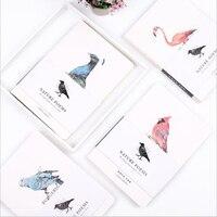 Creative Blank Sketching Book Nude Bird Decoration Office School Schedule Planner Organizer Daily Note Journals Diary