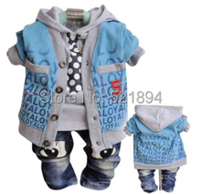 clearance boys digital spring autumn clothing sets 3pcs kids clothes set kids apparel boys costume children clothing set boy