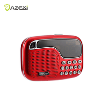 L-21New Arrival Portable Mini Multifunctional FM Radio Versatile Wireless Speaker TF Card USB Disk Audio Files Playing(China)