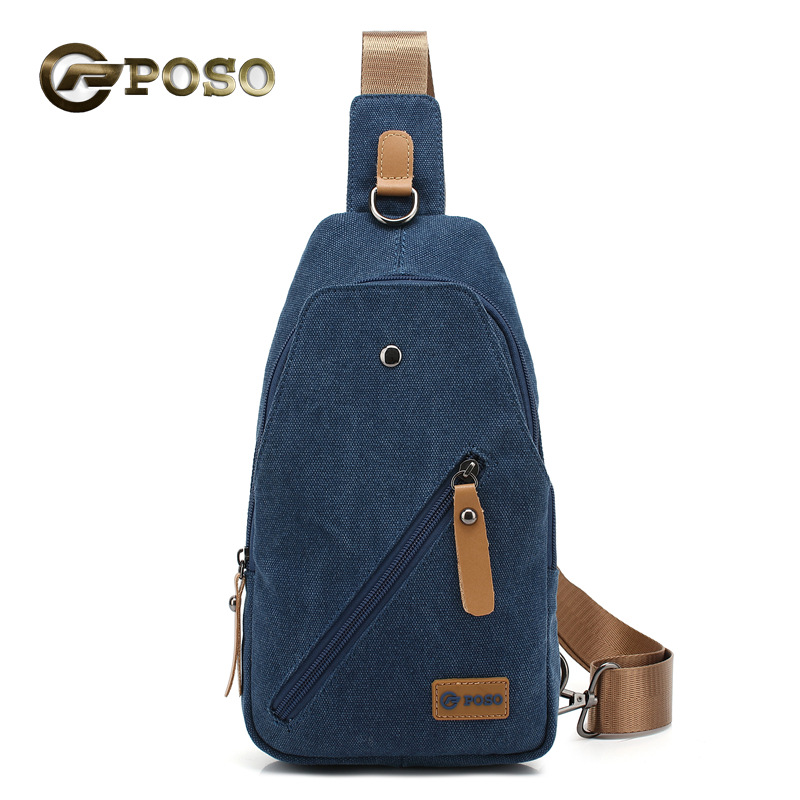 POSO 7.9 9.7 inch tablet chest bag crossbody bag for ipad/ipd mini Multifunctional Casual Canvas Waist Pack Organizer Bag(China (Mainland))