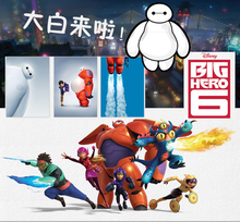 "Disney Big Hero 6 Baymax 11"" 13"" 16"" 19"" Inside Small Figure Plush Kids Gift baby toys Robot filling 100% authentic quality"