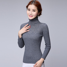 cashmere sweaters women turtleneck sweater and pullover woman clothing New fashion full sleeve cashmere pullovers female tops(China)