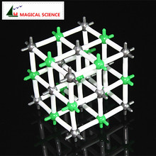 MAGICAL SCIENCE 9mm NaCl crystal structural model Sodium chloride model for Chemical students(China)