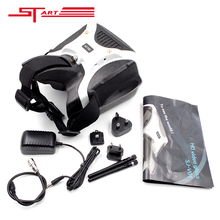 SKYZONE SJ-V01 7 Inch FPV Video Glasses Goggles 5.8G HD Headset HDMI Bulit-in 40 Channel 5.8GHz Receiver Free Shipping