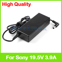 for sony charger 19.5V 3.9A 75W AC Adapter power supply For sony VAIO PCGA-AC19V11 VGN-A6 VGP-AC19V39 VGP-AC19V37 VGP-AC19V33