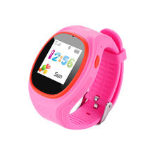 ZGPAX S866A Kids Waist GPS Tracking SIM Card Smart Watch with SOS  LBS Mini Children Security Bracelet Digital for iOS & Android