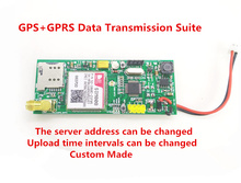 Fast Free Ship GPS+GPRS Data Transmission Suite GPS Data Transmission To Server Demo Board MainBoard+GSM antenna+GPS antenna(China)