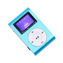 kebidu2016 New arrive Hot selling Mini USB Clip MP3 Player LCD Screen Support 32GB Micro SD TF Card Digital Mp3 players(China)