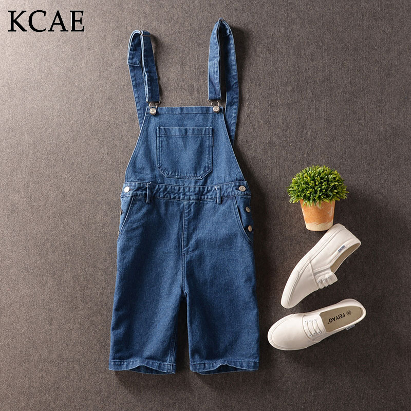 Male Denim Jumpsuit Cotton Fabric Blue Denim Overalls Men Shorts Jeans With Suspender Size M-XXLОдежда и ак�е��уары<br><br><br>Aliexpress