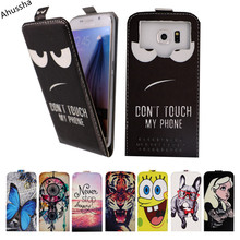 "High Premium 4.5"" Printed Up and Down Flip PU Leather Phone Case For MTC Smart Sprint 4G Cases Universal Back Holster Cover,X1"