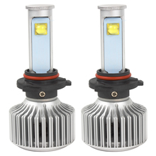 2pcs 9006 LED Car Headlight Car Styling Version of X7 Super Bright 6000K 3600LM All-in-one LED Automobiles Headlamp Light Source