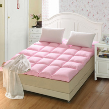 soft and comfort feather velvet mattress, bedding,single double Hotel mattress(China)