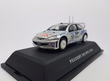 JADI 1:43 Scale Model Car  PEUGEOT 206 WRC 2000 Brand New