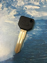 Transponder Key Replacement Key With 4C Chip Inside Toy43 Blade Fit For Toyota Daihatsu Key