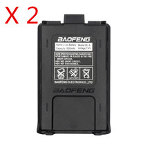 2PCS Baofeng UV-5R Original BL-5 Battery 7.4V 1800mah Rechargeable battery for walkie talkie pofung uv5r two way radio 5ra 5re