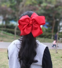 10 inches Huge Big Bow Clip Boutique Hair Bows For Teens Girls Kids Children Women Alligator Hair Clips Grosgrain Ribbon Bows(China)