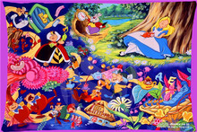 alice in wonderland Rectangle Pillowcases zipper Fashionable Custom Pillow Case New arrived 45x35cm(one side)SQ00707-@H069