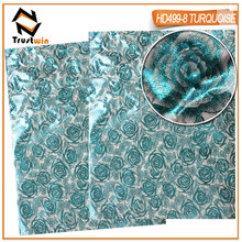 wholesale price  turquoise New design,african headtie,gele Wrapper Ipele 2 pc/set,aso oke nigeria,HD499pi7.5